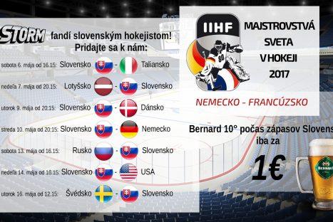 Majstrovstvá sveta v hokeji 2017